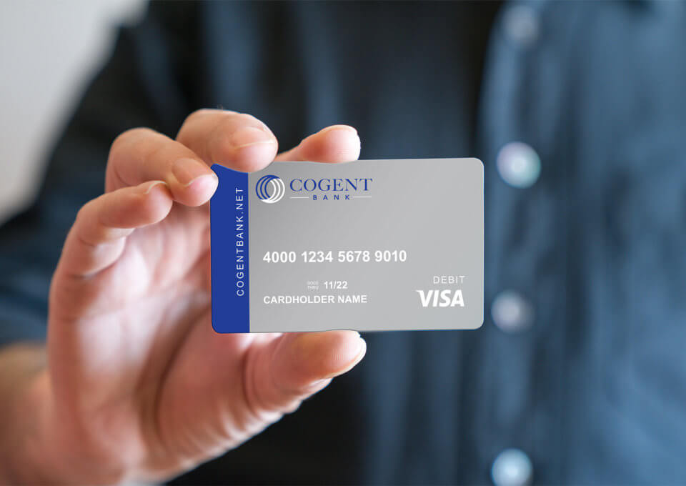 Cogent Bank Debit Card Design