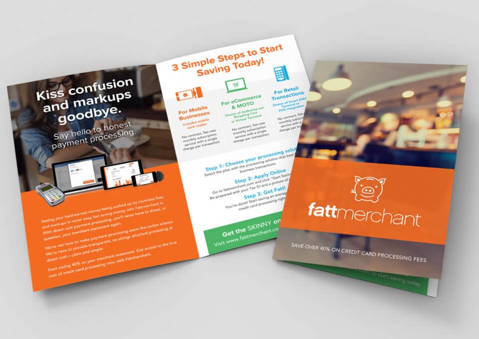 Fattmerchant Brochure Design