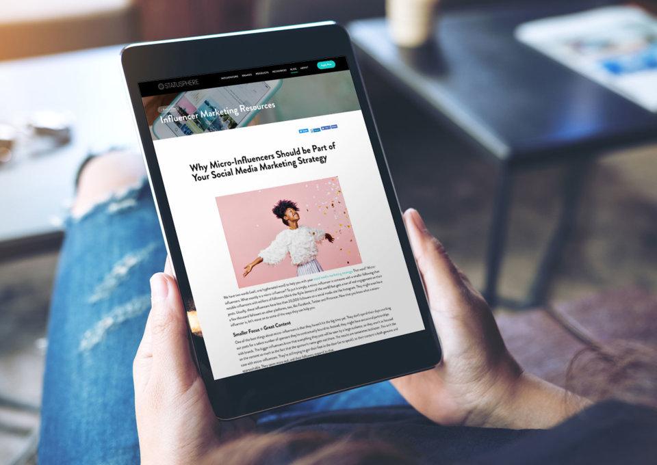 Statusphere Blog Design